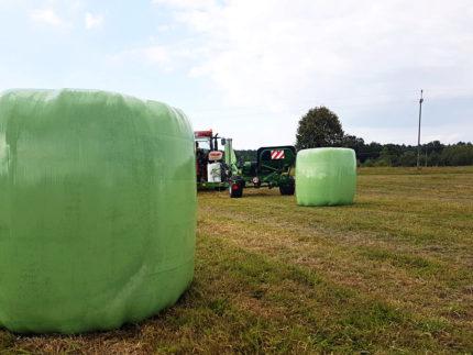 Zielona folia dosianokiszonki Agro Wrap